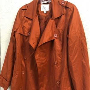 Burnt Orange Trench Coat from Target